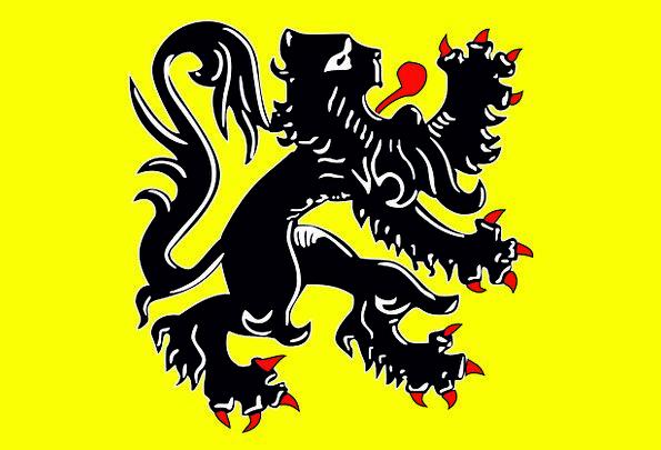 Flanders Standard Official Authorized Flag Flemish