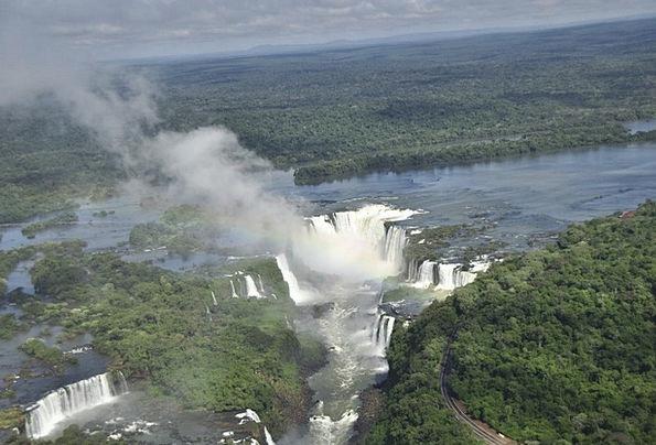 Brasil Landscapes Cascade Nature Brazil Waterfall