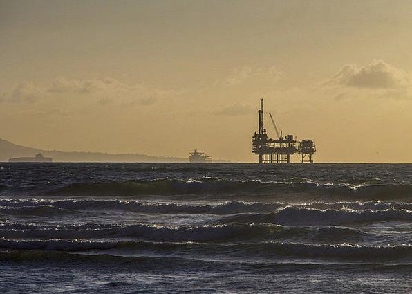 Oil Platform Craft Industry Oil Rig Offshore Platf