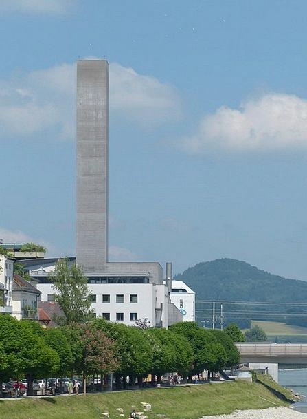 Salzburg Barbican Austria Tower Heat And Power Cen
