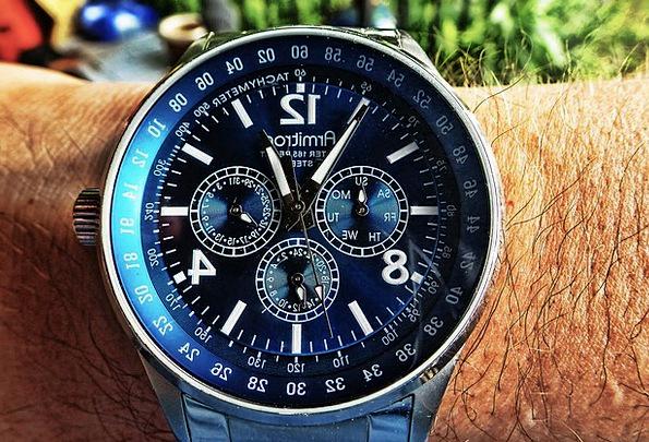 Watch Timepiece Wristwatch Wrist Clock Analog Cloc