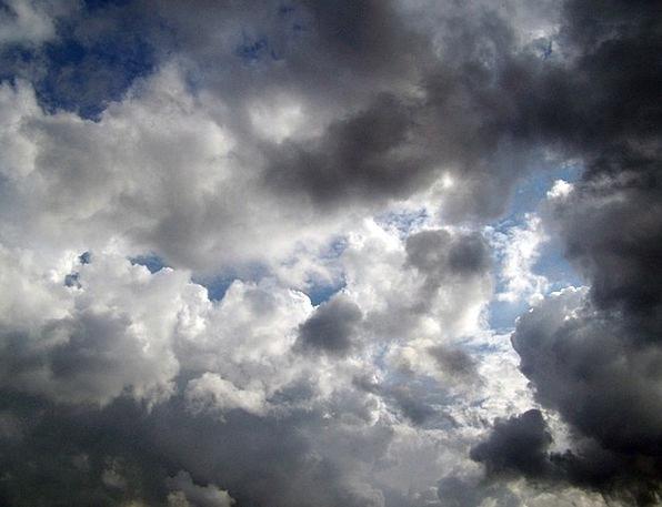 Clouds Vapors Landscapes Dim Nature Storm Tempest