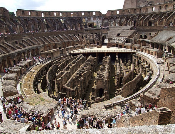 Colosseum Roman Coliseum Rome Gladiators Fighters