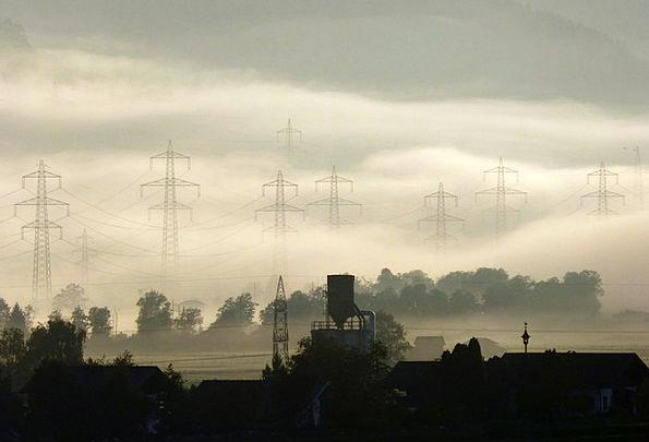 Morgenstimmung Landscapes Mist Nature Farm Farmhou