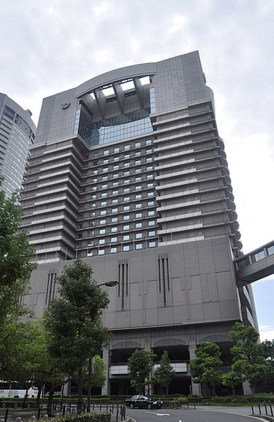 Japan High-Rise Building Osaka