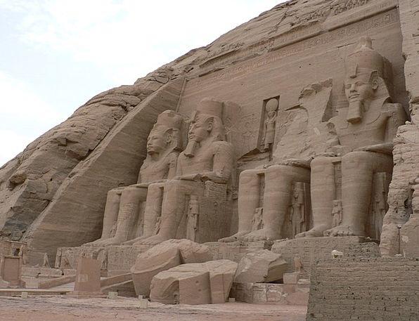 Abu Simbel Desert Reward Egypt Temple Shrine Ramse