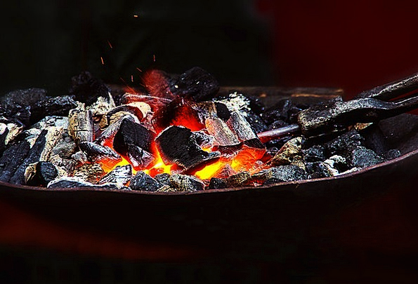 Fire Passion Furnace Embers Cinders Forge Glow Rad