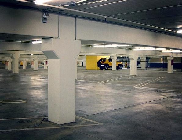 Parking Lot Traffic Transportation Basement Garage