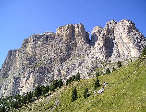 Piz Ciavazes Landscapes Nature Sellatuerme Sella R