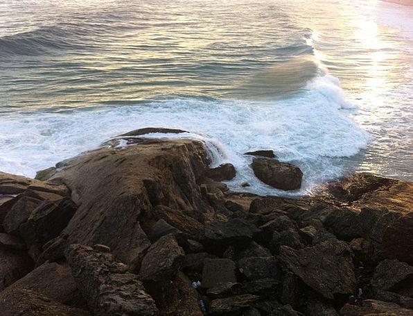 Rio De Janeiro Vacation Seashore Travel Stones Gra