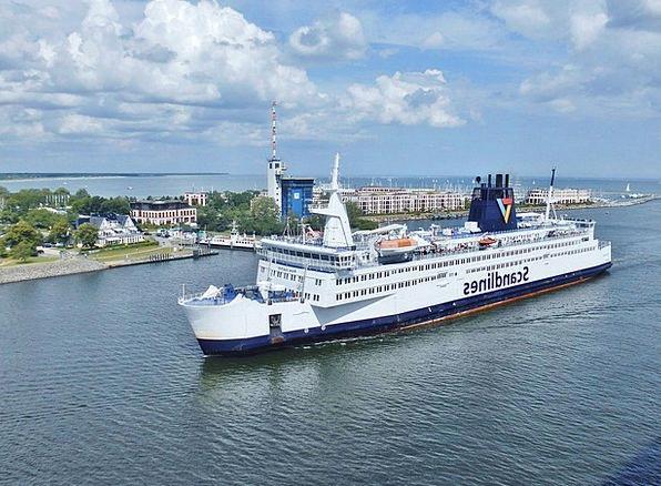 Ship Vessel Harbor Shipping Delivery Port Warnemün
