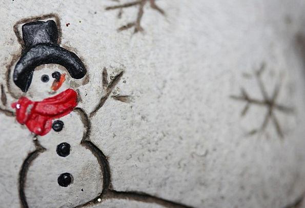 Christmas Christmas Eve Snow Man Winter Season Gre