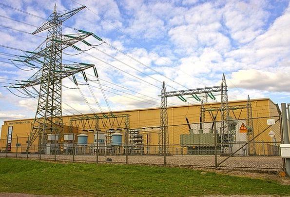 Electric Current Energy Vigor High Voltage Line Ai