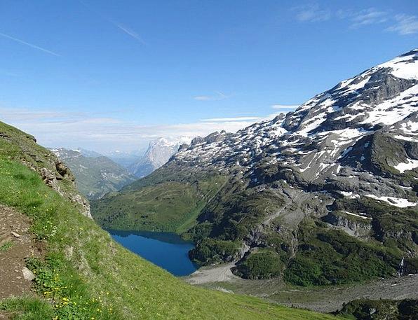 Mountain Landscape Mountaineering Alpine Walk Hiki