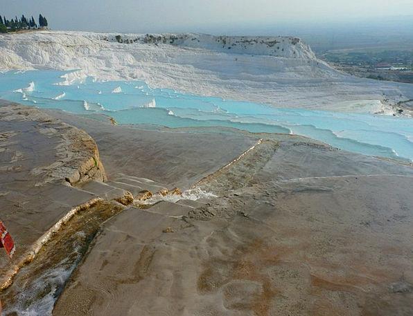 Pamukkale Landscapes Nature Unesco World Heritage