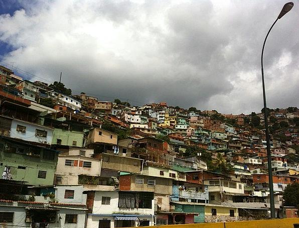 Caracas Barriada Venezuela Venezuelan Neighborhood