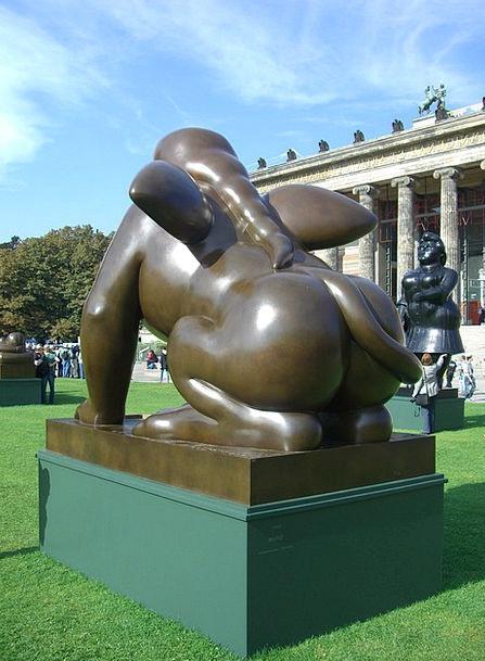 Botero In Berlin Pleasure Garden Bronze Sculpture
