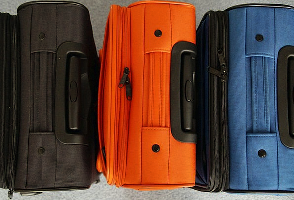 Luggage Baggage Vacation Leave Travel Travel Porta