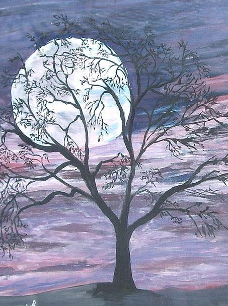 Moon Romanticize Craft Industry Tree Sapling Full