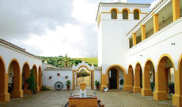 Hacienda Buildings Architecture Spain Andalusia Pa