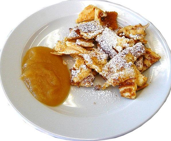 Kaiserschmarrn Drink Food Pancake Sweet Dish Kcal