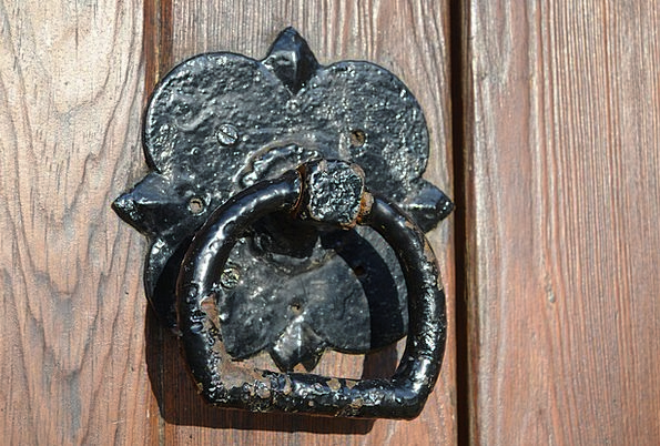 Old Ancient Textures Entrance Backgrounds Knocker