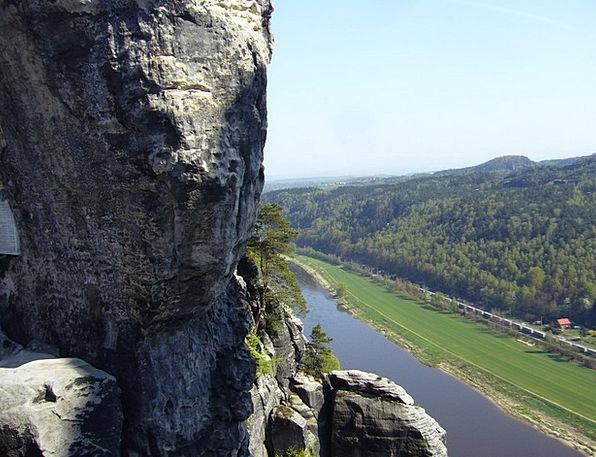 Bastion Views Switzerland Saxon Elbe