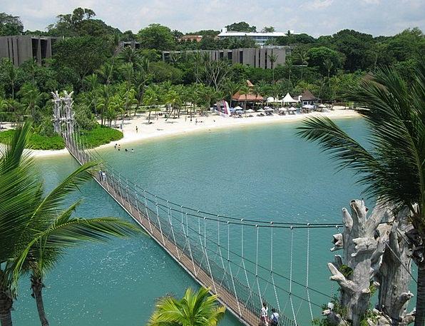 Beach Seashore Vacation Travel Island Isle Sentosa