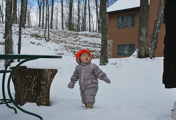 Baby Darling Outdoor Outside Infant Winter Season