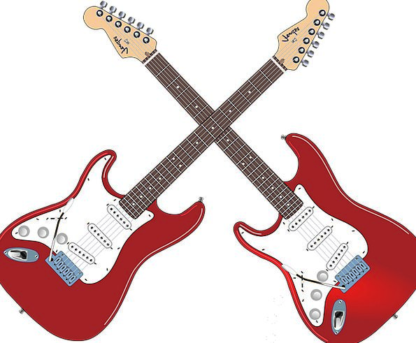 Electric Guitars, Knife, Guitar Lessons, Axe, Band, Bass, Deep-toned ...