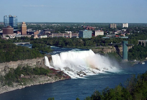 Niagara Vacation Cascades Travel American Waterfal