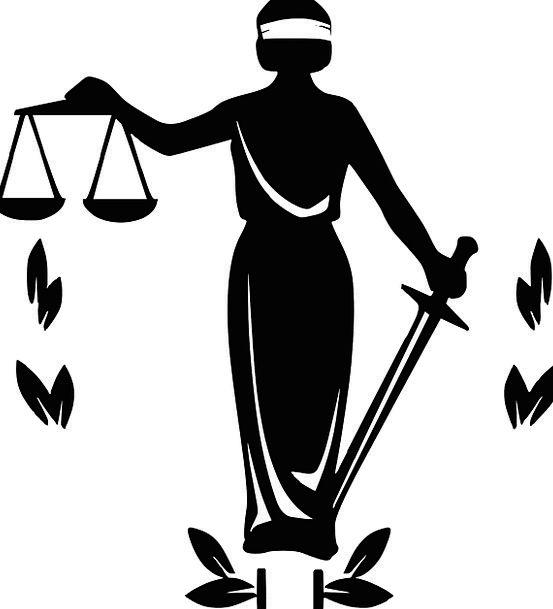 कायद्याचा तराजू आणि तलवार