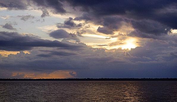 Guajará Bay Vacation Travel Sunset Sundown Bethleh