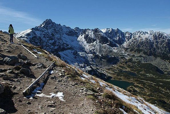 Hiking Trail Landscapes Nature Tatry ?winica Ridge