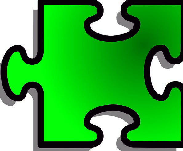 Jigsaw Mystery Game Willing Puzzle Green Lime Free