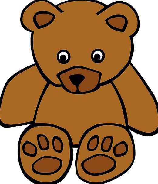 Teddy Bear Bear Tolerate Teddy Free Vector Graphic