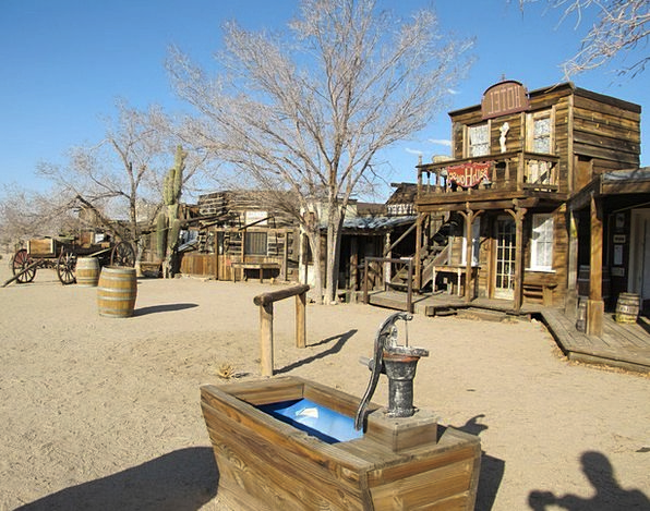Ghost Town California Pioneertown Mojave Desert Co