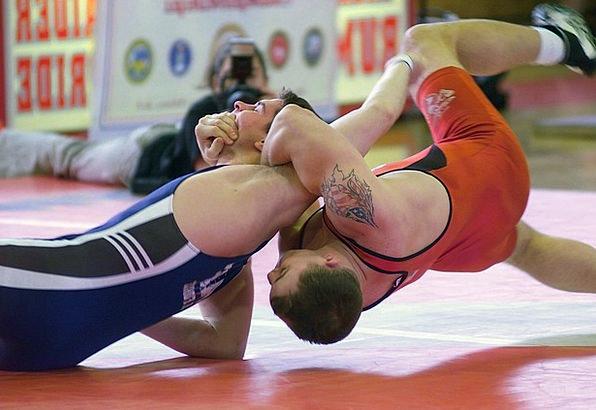 Men Menfolk Struggling Sports Sporting Wrestling G
