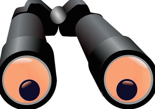 Binoculars Eyeglasses Enlarge See Understand Magni