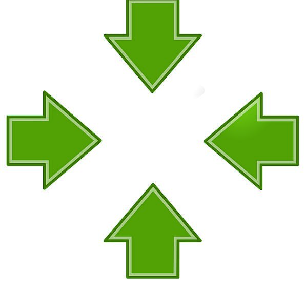 Arrows Missiles Lime Left Left-hand Green Free Vec