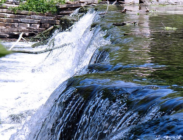 Fall Reduction Landscapes Cascade Nature Gushing P