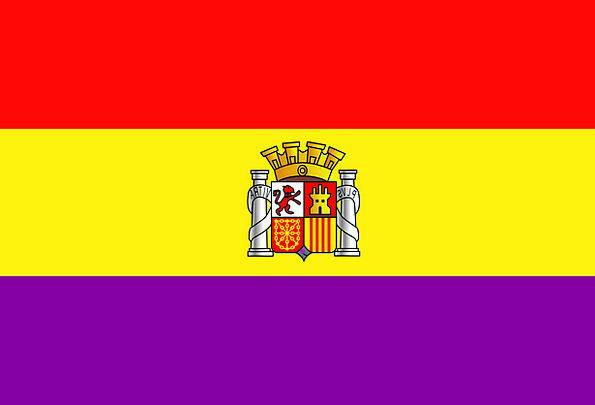 Spain Standard Symbol Sign Flag Country Republic N