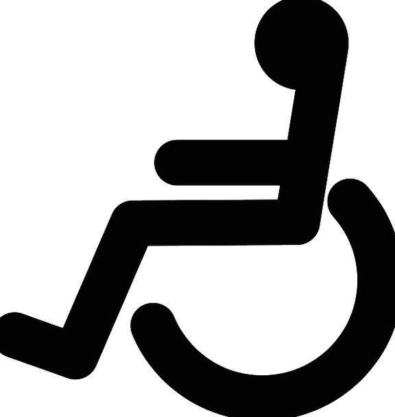 Wheelchair Dark Handicap Black Impairment Disabled