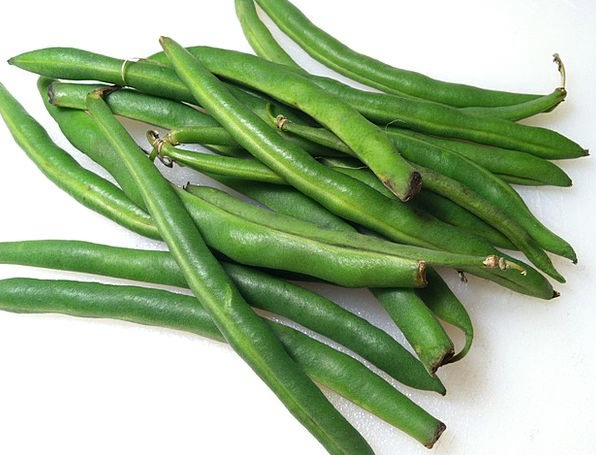 Green Beans Fresh New Beans Raw Uncooked Green Lim