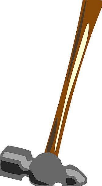 Hammer Mallet Craft Instrument Industry Work Effor