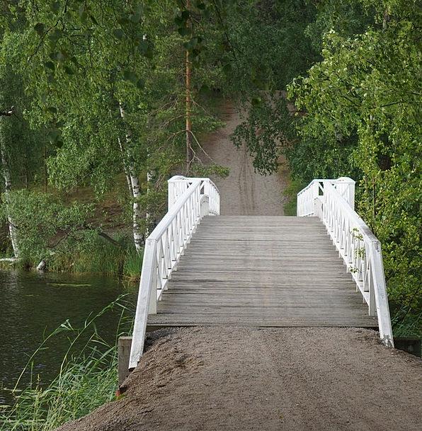 Bridge Bond Skywalk The Wooden Bridge White Bridge