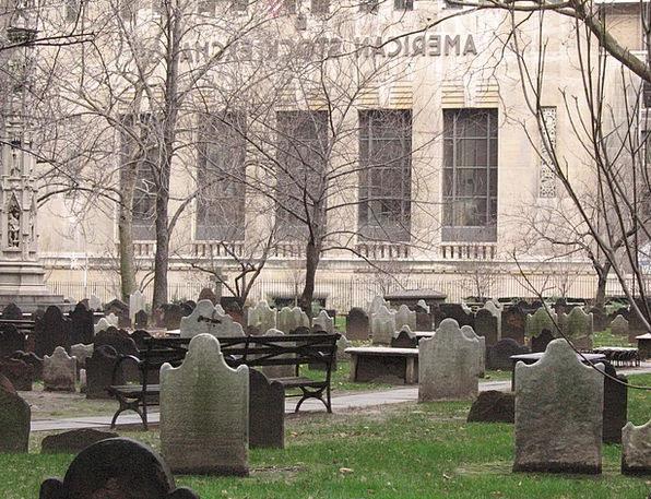 Cemetery Graveyard American Stock Exchange New Yor
