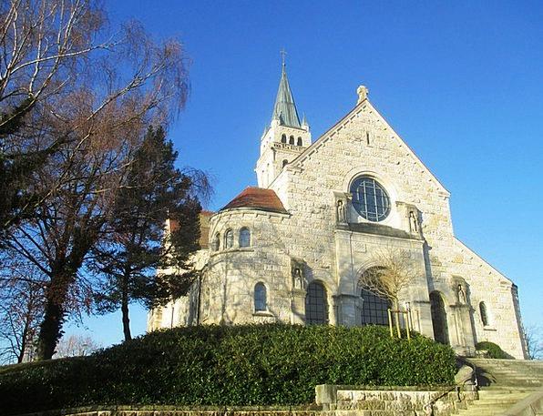 Church Ecclesiastical Romanshorn Church On The Sch