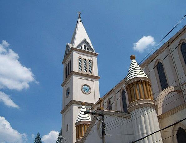 Church Tower Timepiece Cruz Watch Pine District Sã