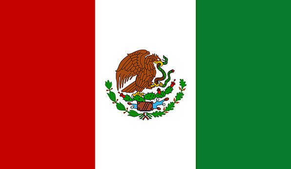 Mexico Standard Mexican Flag Free Vector Graphics